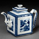 Teapot, unknown maker, about 1760. Museum no. 611&A-1903