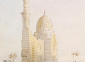 Owen Jones, 'Tomb near Cairo', 1833. Museum no. SD.532
