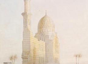 Owen Jones, 'Tomb near Cairo', 1833. Museum no. SD.532