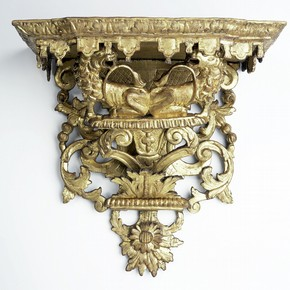 Wall bracket, unknown maker, 1695-1710. Museum no. W.6-1932