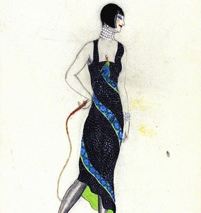 5) Victor Stiebel (1907-73), fashion design, England, about 1927. Museum no. E.1077-1983
