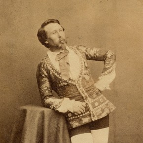 Chevalier Blondin, mid 19th century