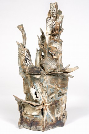 &#39;Slab Piece&#39;, Jonathan Wood, judged winner of the Ceramic category, Inspired by 2006