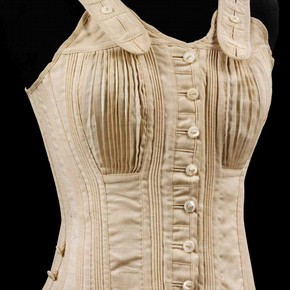 Corset, Jaeger, 1890s. Museum no. T.229-1968
