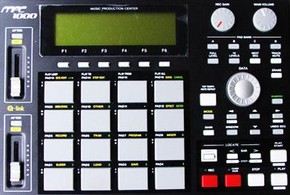 Akai MPC 1000. Photo by David Littler