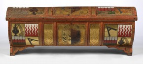 Painted chest (cassone), about 1488, Museum no. 47-1882