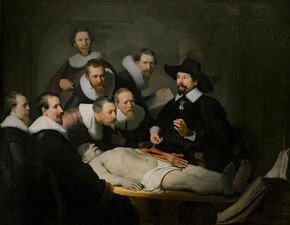 Rembrandt van Rijn, The Anatomy Lesson of Dr Nicolaes Tulp, 1632, Royal Picture Gallery Mauritshuis, The Hague
