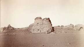Ruined fort, Sir Marc Aurel Stein, 1906. Photo 392/27(109), © The British Library Board