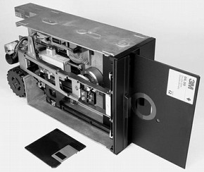 Figure 3 - 8 inch Floppy Disk Drive, announced 1978, Photographed by Michael Holley, courtesy of Wikimedia, July 2007