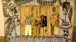 'Marionette Theatre' for the exhibition Spectres: When Fashion Turns Back, 2005