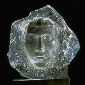 Head of a woman by Aristide-Michel Colotte, about 1930, Museum no. C.218-1983