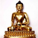 Bhumisparsa, Sakyamuni at point of enlightenment, (Earth Witness). Museum no. IM.227-1920
