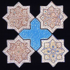 Tiles, 13th-14th century, Museum no. 1074-1875. © Victoria & Albert Museum, London