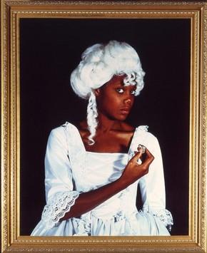 Maud Sulter (1960- ), 'Terpsichore', 1992. Museum no. E.1795-1991, © Maud Sulter