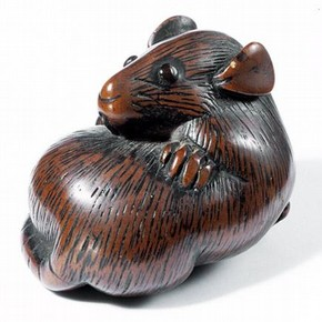 Netsuke, Japan, about 1750-1800. Museum no. A.958-1910