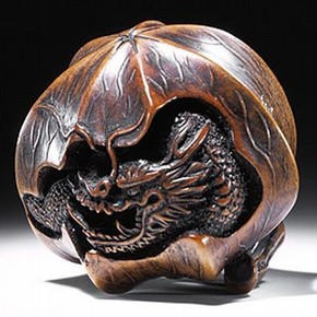 Netsuke, Toyokazu, Japan, about 1850-1900. Museum no. A.54-1952