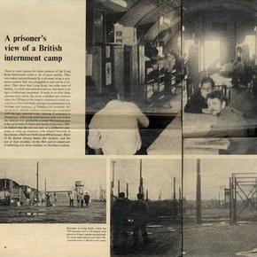A prisoner's view of a British internment camp, 'Life', October 1971