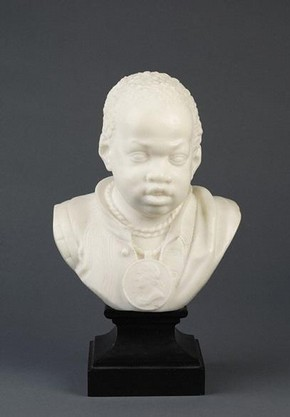 Bust of a boy, attributed to Joannes Claudius de Cock (1668-1735), about 1705-1710. Museum no. A.18-1913