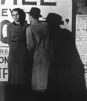 Bill Brandt, 'Street Scene or Couple in Peckham', 1936. © Bill Brandt Archive Ltd.