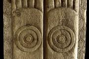 Buddhapada (footprints of the Buddha), Amaravati, British Museum