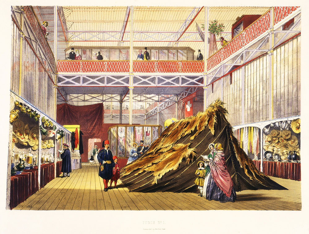 D Printer Exhibition London : Tunisian textiles at the great exhibition victoria and