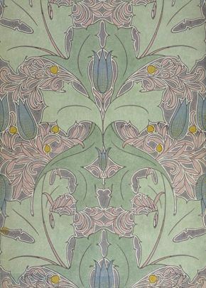 Wallpaper, C. F. A. Voysey, England, about 1899. Museum no. CIRC.263-1953, © Victoria and Albert Museum, London