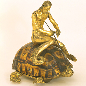 Mechanical tortoise with triton rider, 1600 -1650, © The Victoria and Albert Museum, London
