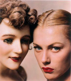 Erwin Blumenfeld, Model and Mannequin, American Vogue Cover, 1 November 1945, © Estate of Erwin Blumenfeld/Victoria and Albert Museum, London