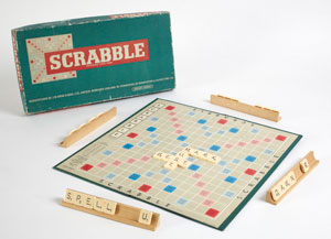 Scrabble, JW Spear and Sons, England, 1970s copyright Victoria and Albert Museum