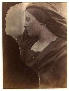 Mary Hillier, Julia Margaret Cameron, 1864-6, albumen print. Museum  no. PH.346-1981 @ Victoria and Albert Museum, London
