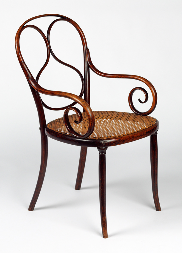 Delightful 1, Designed And Manufactured By Thonet Brothers (Gebrüder Thonet), About  1859. Museum No. W.30 2011