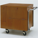 Drinks Trolley by Zsuzsa Kozma, 1938-9