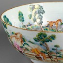 Bowl, unknown maker, about 1760-70. Museum no. C.22-1951