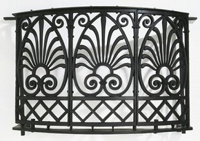 Balcony front, Carron Iron Co., designed by Robert Adam, about 1775. Museum no. M. 429-1936, © V&A Images