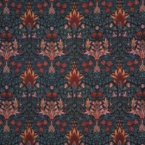 Block-printed cotton, William Morris, 1876. Museum no. T.37-1919