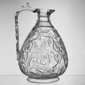 Rock crystal ewer, Egypt, probably Cairo, 1000–1050. Museum no. 7904-1862
