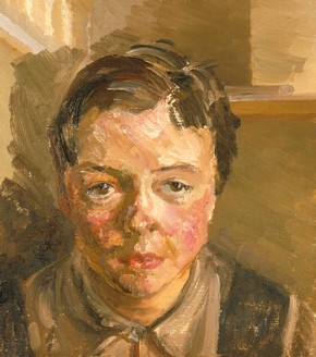'Joan Littlewood', oil portrait by Margaret Nicholson, 1931. Museum no. S.95-1986