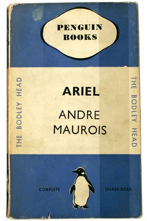 Front cover of 'Ariel' by Andre Maurois, published by Penguin, 1935. Museum no. LOAN:PENGUIN BOOKS