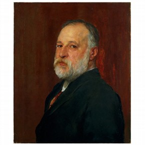 Constantine Alexander Ionides, oil painting by George Frederick Watts, UK, 1880. Museum no. CAI.1141