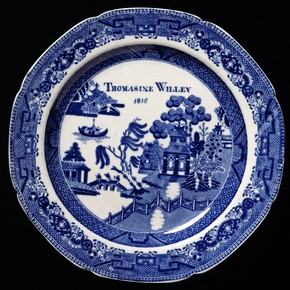 Plate, Spode Ceramic Works (possibly), Staffordshire, England. Museum no. C.231-1934