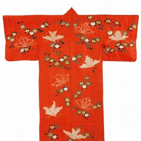 'Kimono for Women', 1800-50. Museum no. FE.101-1982
