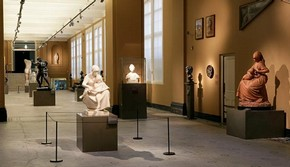 View of the Sculpture Galleries.