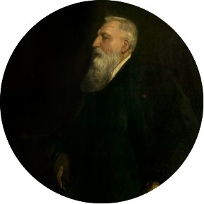 Sir John Lavery, Auguste Rodin, oil painting, London, 1913. Museum no. P.18-1914