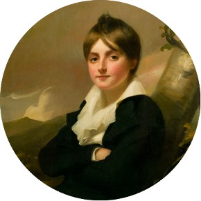 Alexander Dyce as a Boy, oil painting, early 19th century, Museum no. DYCE.3348