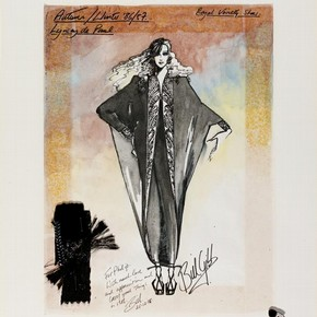 Bill Gibb (1943-88), costume design, London, 1986. Museum no. E.523-1993