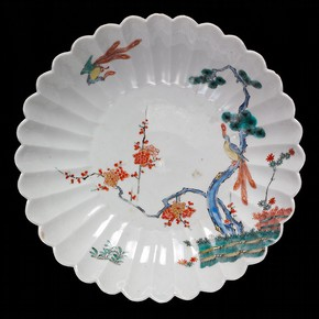 Kakiemon-style bowl, Arita, Japan, 1690-1720. Museum no. FE.83-1970, © Victoria and Albert Museum, London
