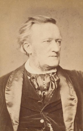George Eksts, photograph of Richard Wagner, 19th century. Museum no. S.138:30-2007