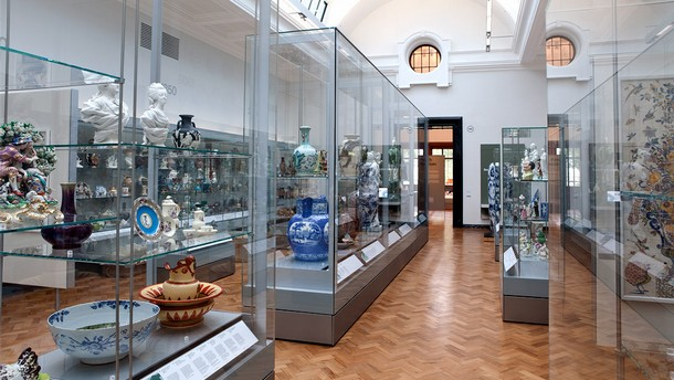 The refurbished ceramics galleries, 2010
