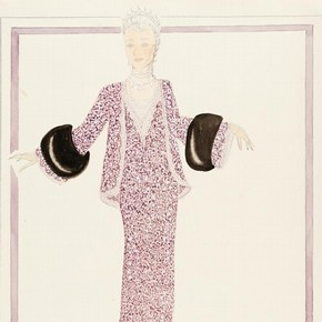 6) Norman Hartnell (1901-79), fashion design, London, 1930s. Museum no. E.19-1943