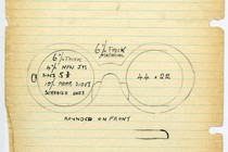 Sketch for the 1964 frame &#39;Goo-Goo&#39;, Museum no. T.244:S-1990